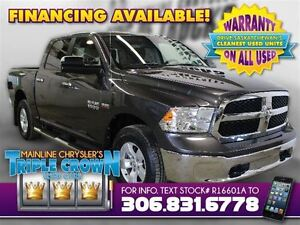 2015 Ram 1500 SLT Crew Cab 4x4 - Only 3,200 KM! SK Tax Paid!