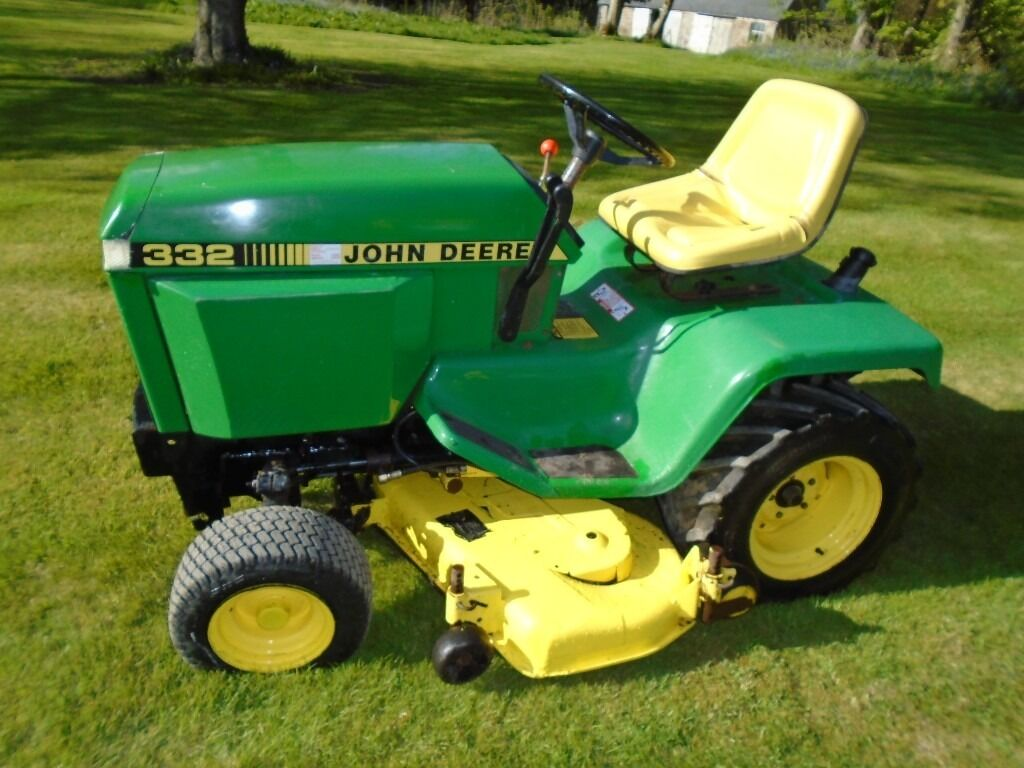 Lawn Mower Diesel : John deere diesel ride on lawn mower in fraserburgh
