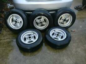 Ford capri 4 spoke wheels