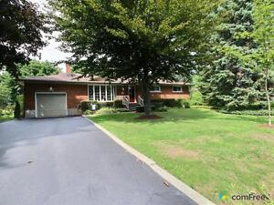 $499,000 - Bungalow for sale in Hannon
