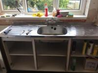 Traditional double sized sink