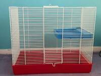 Small animal cage.
