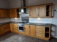 Used kitchen great condition! Oven, extractor, dishwasher, washing machine, fridge freezer...