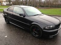 2003 BMW 3 SERIES MSPORT COUPE 140K, PRIVATE PLATE! 1 YEAR MOT £1000