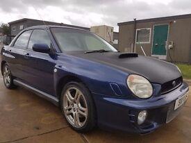 2001 Subaru impreza Wrx import