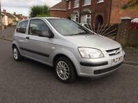 JUNE 2005 HYUNDAI GETZ 1.1 GSI ONLY 50,000 MILES LONG MOT
