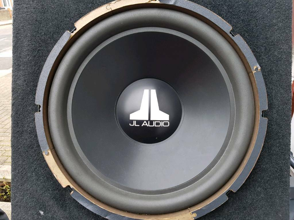 Jl Audio 15w3 v2 sub in box 15 Inc sub, Bass drops very nice and hard | in  Southall, London | Gumtree