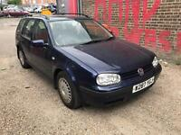 VW GOLF 2.0 PETROL W REG ESTATE GOOD RUNNER £300