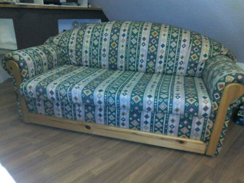 kleine schlafcouch sofa in bayern ebrach ebay. Black Bedroom Furniture Sets. Home Design Ideas