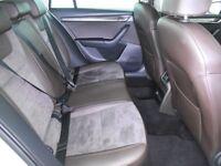 SKODA OCTAVIA 2.0 TDI CR 184 SCOUT 4X4 5DR DSG Auto (white) 2015