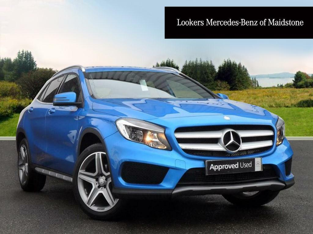 mercedes benz gla class gla 200 d amg line blue 2016 09. Black Bedroom Furniture Sets. Home Design Ideas
