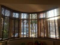 Wooden blinds - ex. Condition
