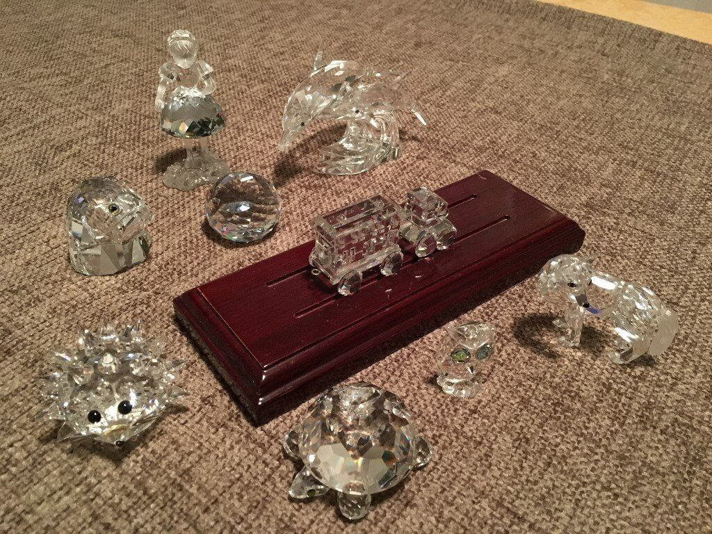 1456835b8 Collection of Swarovski Crystal Ornaments – 10 Pieces | in ...