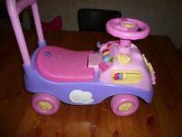 Disney Princess ride on toy