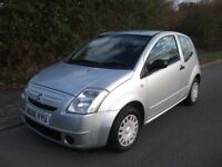 1124cc ONLY 51,000 MILES CITROEN C2 DESIGN JUST HAD CAMBELT CHANGED
