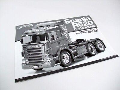 Tamiya 1//14th Scale Rc Scania R620 Highline Man Etc X4 Bump Stopper /& Brackets