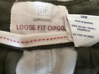 Gap Loose Fit Cargo Shorts - NEW