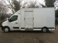 Excellent Condition Luton van (Vauxhall Movano) 61 plate