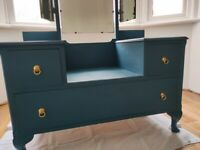 Beautiful upcycled dressing table