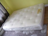 CAN DELIVER - 4FT DOUBLE MATTRESS IN GREAT CONDITION - JUST 10 MONTHS OLD