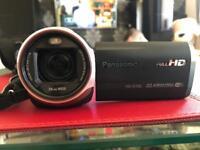Panasonic HC-V720EB-K Full HD Camcorder Wi-Fi NFC Intelligent Zoom