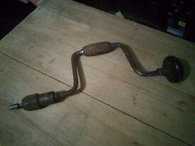 Vintage Hand Drill (Auger)