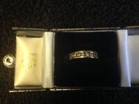Gold ladies Diamond ring size K