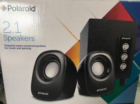 *Speakers* Polaroid 2.1