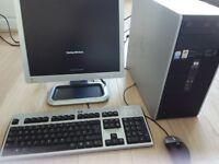 HP Windows 7 desktop PC.