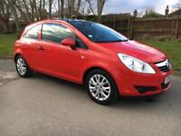 VAUXHALL CORSA 1.2 ACTIVE PLUS 2010 59 REG PANORAMIC GLASS SUN ROOF GREAT SPEC CAR, P/X WELCOME