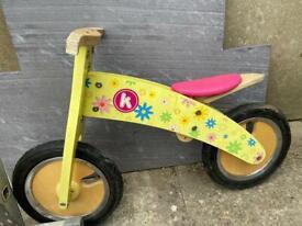 Child Toddler balance bike