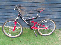 Youngster's bike. Good condition with suspension