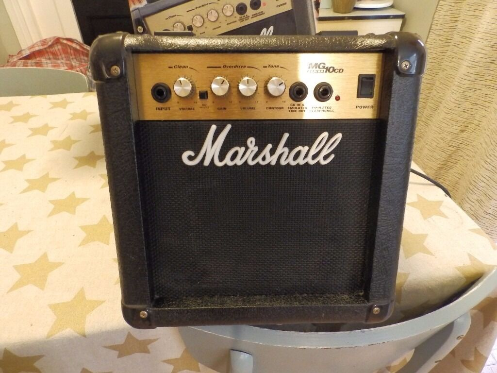 marshall mg10 cd practice guitar amp in tooting london gumtree. Black Bedroom Furniture Sets. Home Design Ideas