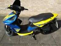 kymco super 8 50cc 4 stroke scooter for sale choke problem kick start only spares or repair no texts
