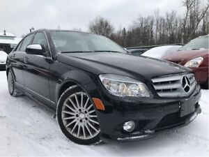 2009 Mercedes-Benz C-Class C 230 4Matic AWD Leather Sunroof