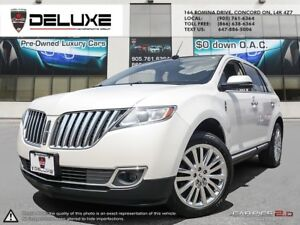 2013 Lincoln MKX MKX AWD NAVIGATION WHITE $75.81 WEEKLY