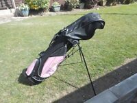 Golf Girl - Pink Junior Golf Clubs right handed- suit child 4 1/2 ft to 5 1/2 ft tall
