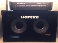 Hartke Bass A4000 Bass head + 2x10 Bass cabinet