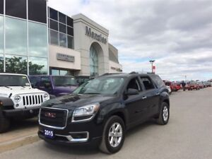 2015 GMC Acadia SLE, Bluetooth, Pano Roof, Clean Carproof