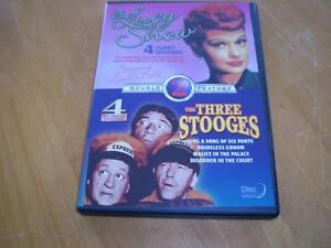 THE THREE STOOGES AND THE LUCY SHOW DVD