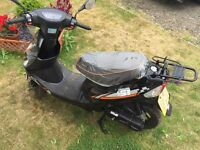 As new 50cc moped.