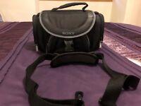 Sony LCS-X30 Handycam Soft Carrying Case Shoulder Bag for Camcorder DSLR Camera