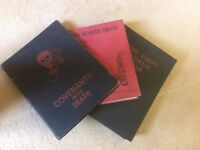The First World War - 1st Edition 1933; Covenants With Death - 1934; The Western Front Then and Now