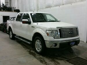"""2012 Ford F-150 4WD SuperCrew 145"""" Lariat W/ LEATHER, REMOTE SRT"""