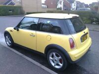 MINI ONE MOT FEBRUARY 2019 FULL SERVICE HISTORY. CHEAP INSURANCE.