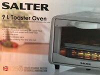 Salter 9 Litre Toaster & Mini Oven (Grill, Heat) 800W -