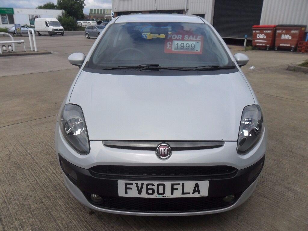 2010 FIAT PUNTO EVO ACTIVE 1.4 PETROL 3 DOOR MANUAL WHITE | in Coventry, Fiat Punto Rosso Pione on