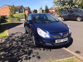 Vauxhall Corsa Full Mot and Full Service history £1495