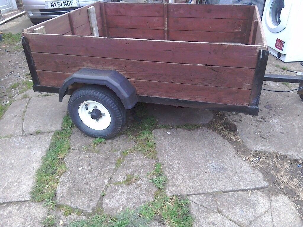 A quad or camping trailer 5feet by 4feet good surspention