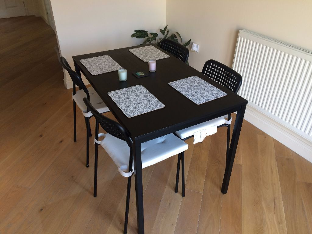 Ikea Dining Table and Chairs Tärendö Adde in Worcester Park London